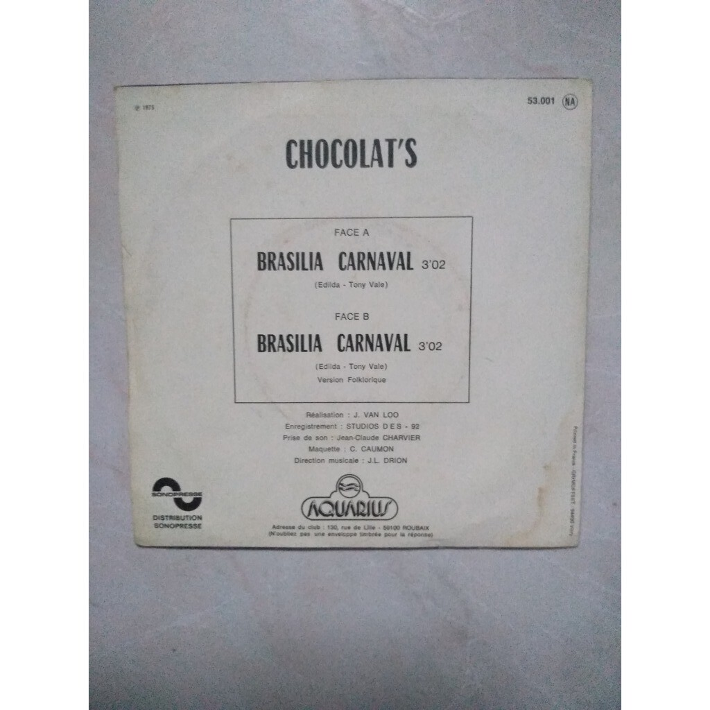 chocolat's brasilia carnaval
