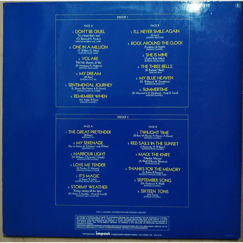 the platters album 2 disques