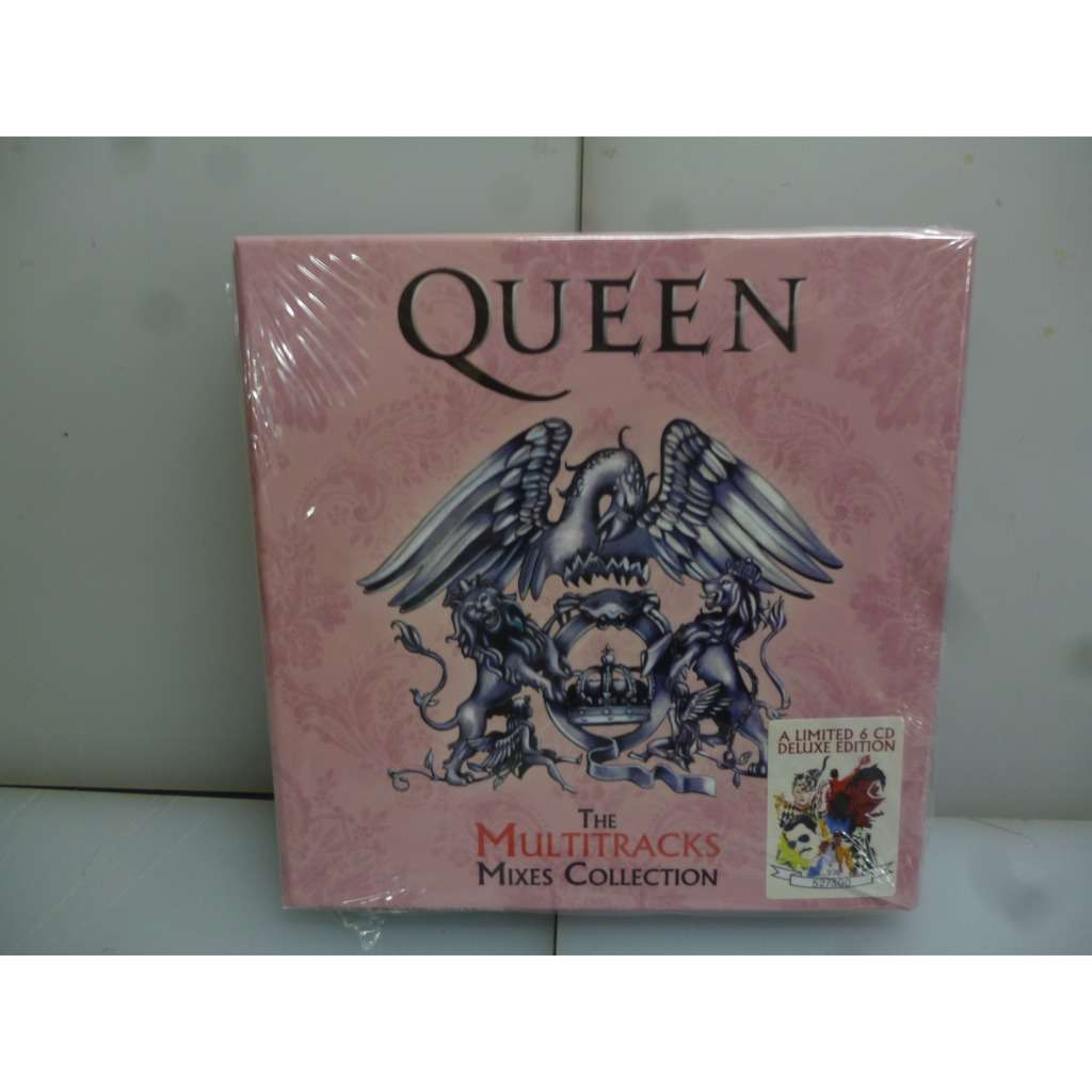 Queen The Multitrack Mixes Collection  Multitracks, Mixes And  Isolations -EU 2019 Ltd To 300 6CD Boxset