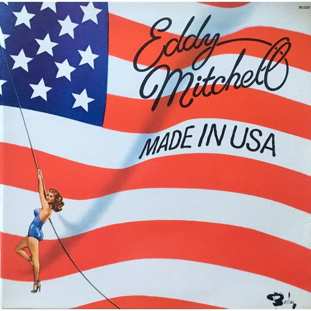 EDDY MITCHELL - MADE IN USA (FRENCH PRESSING 12 VINYL LP)