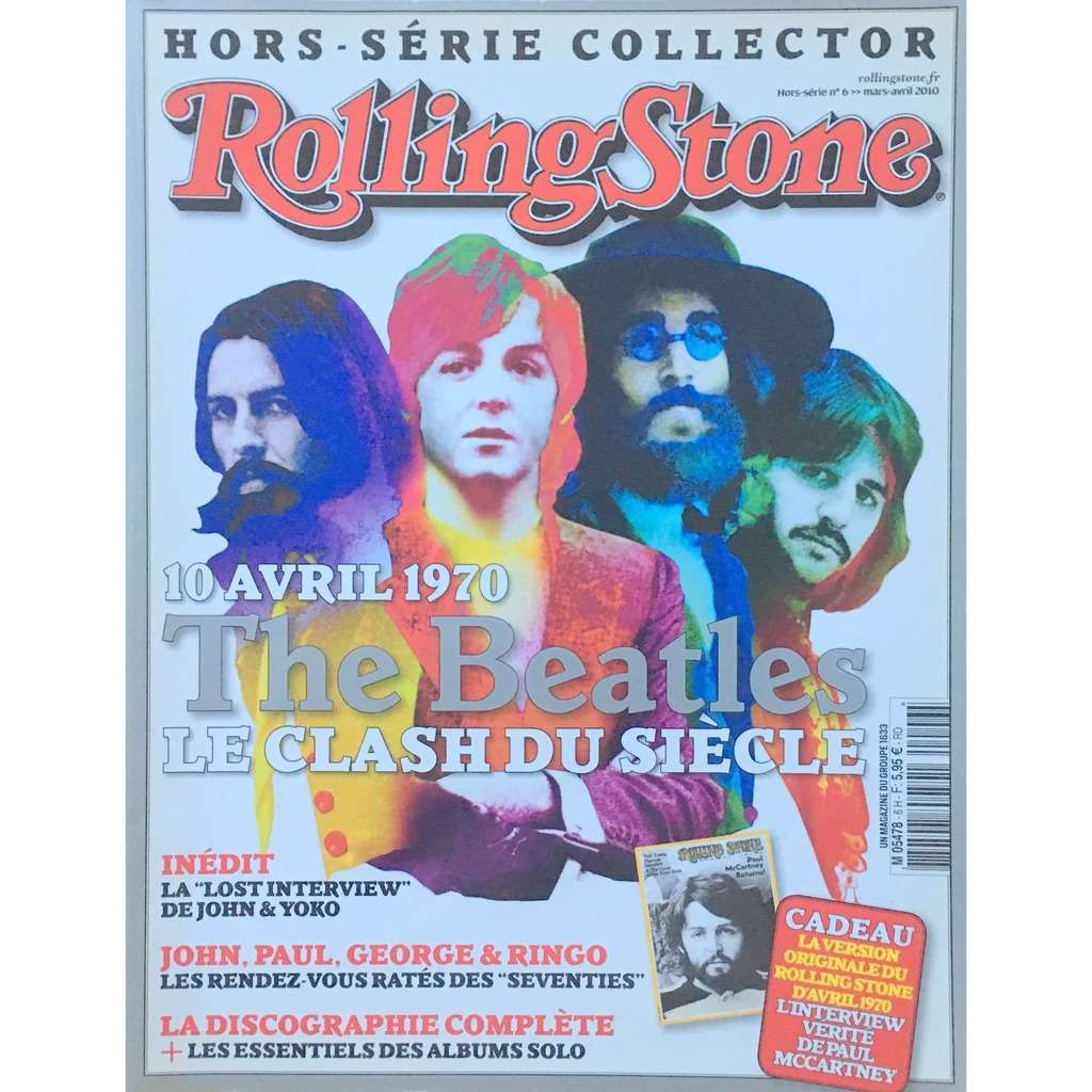 ROLLING STONE HORS-SERIE COLLECTOR - THE BEATLES (FR. MAG.)