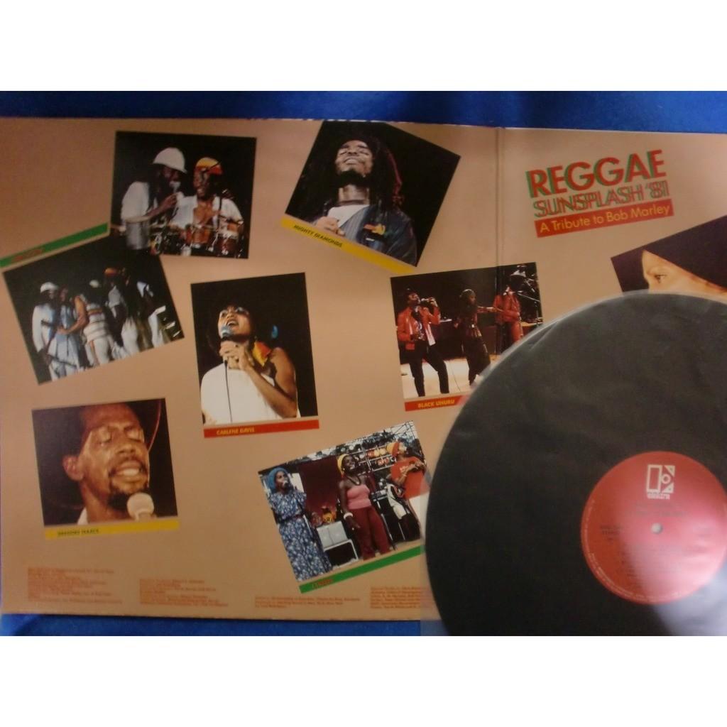 steel pulse / black uhuru / rita marley / etc. reggae sunsplash '81 - a tribute to bob marley