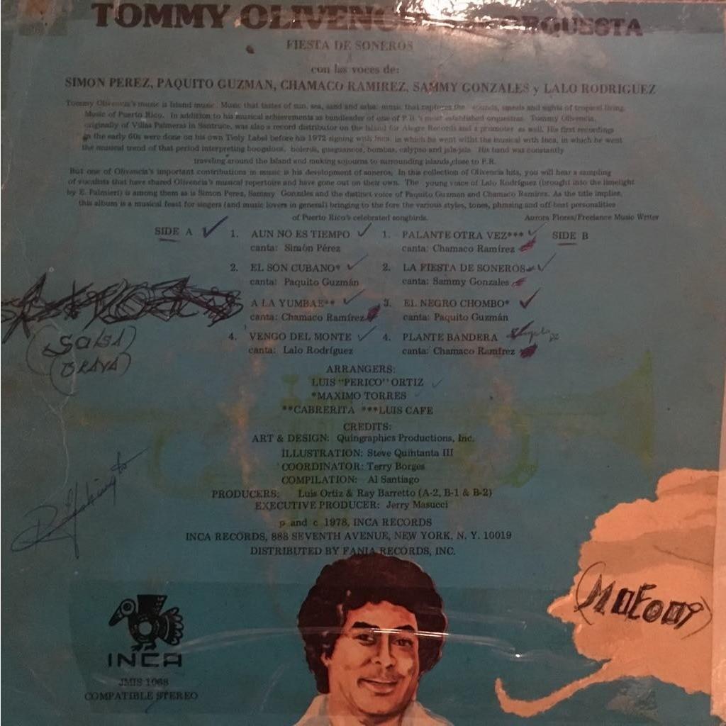 Tommy Olivencia y su Orquesta Fiesta de soneros