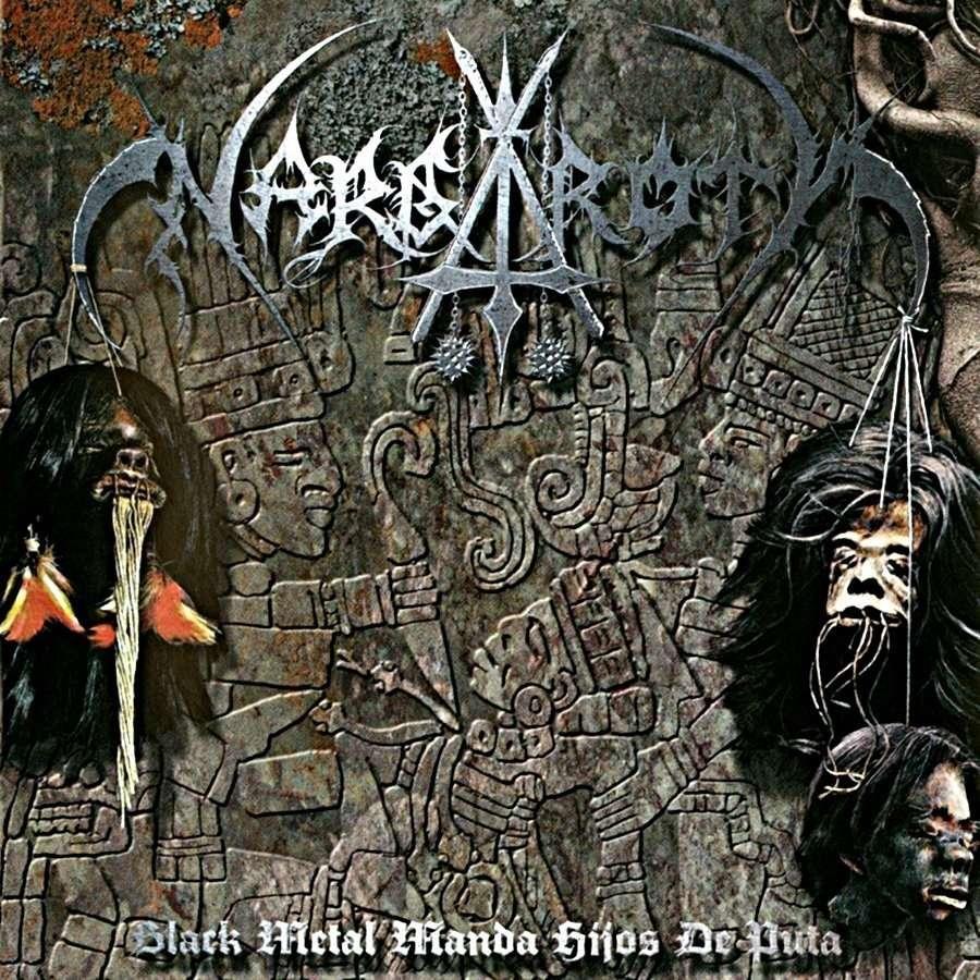NARGAROTH Black Metal Manda Hijos De Puta. Blue Vinyl