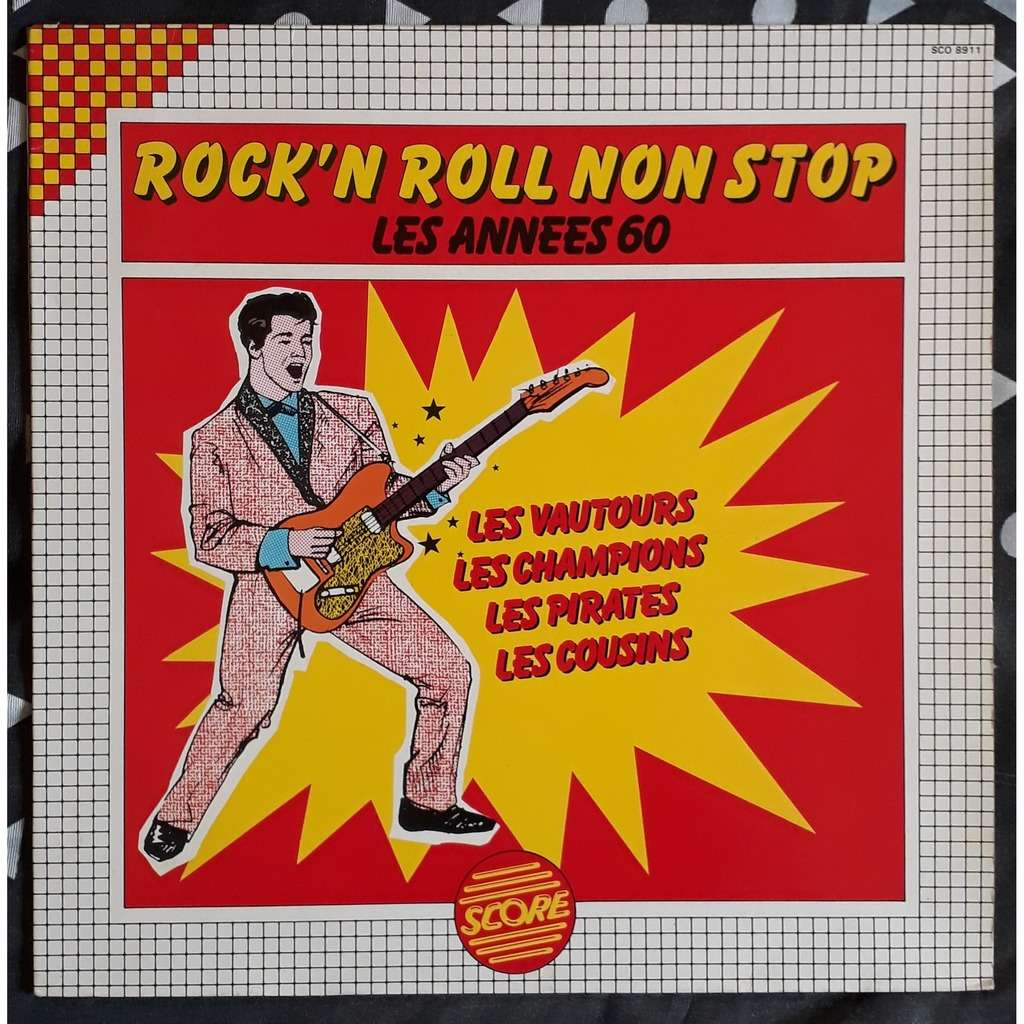 various rock'n roll non stop - les années 60