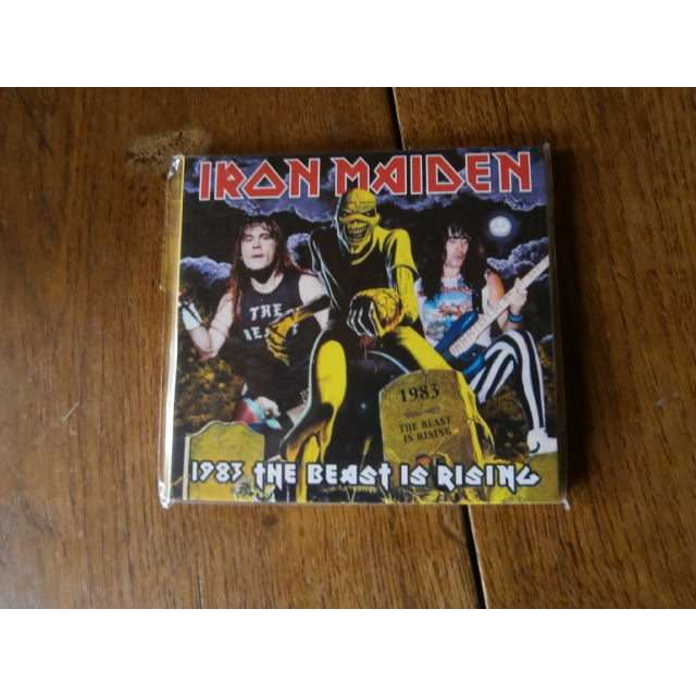 iron maiden 1983 the beast is rising