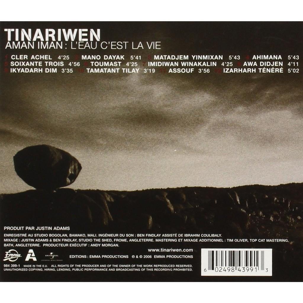 Tinariwen Aman Iman : L'Eau C'Est La Vie