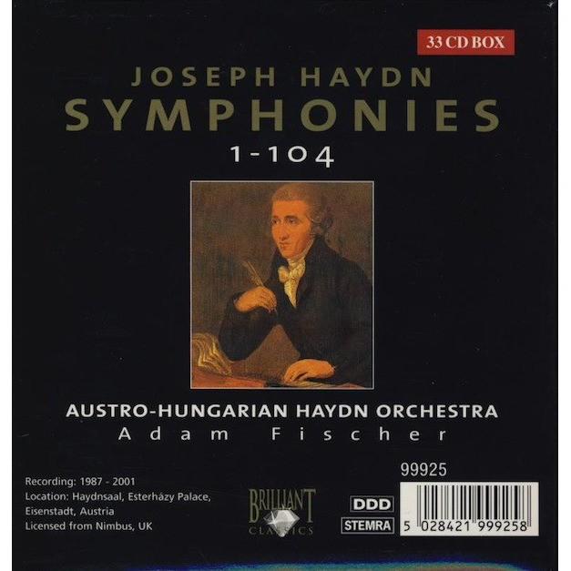 HAYDN HAYDN - SYMPHONIES COMPLETE - 33 CD