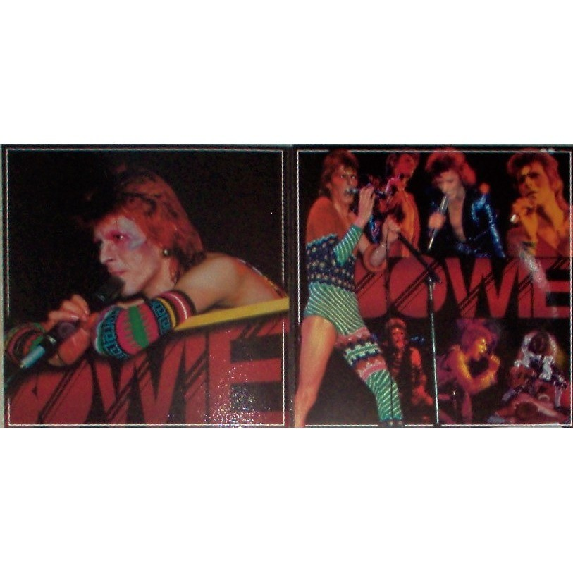 David Bowie Wild Eyed Boy Rehearsals (Odeon Theatre, London UK 24.05.1973) (Ltd 100 copies PINk & blu wax)