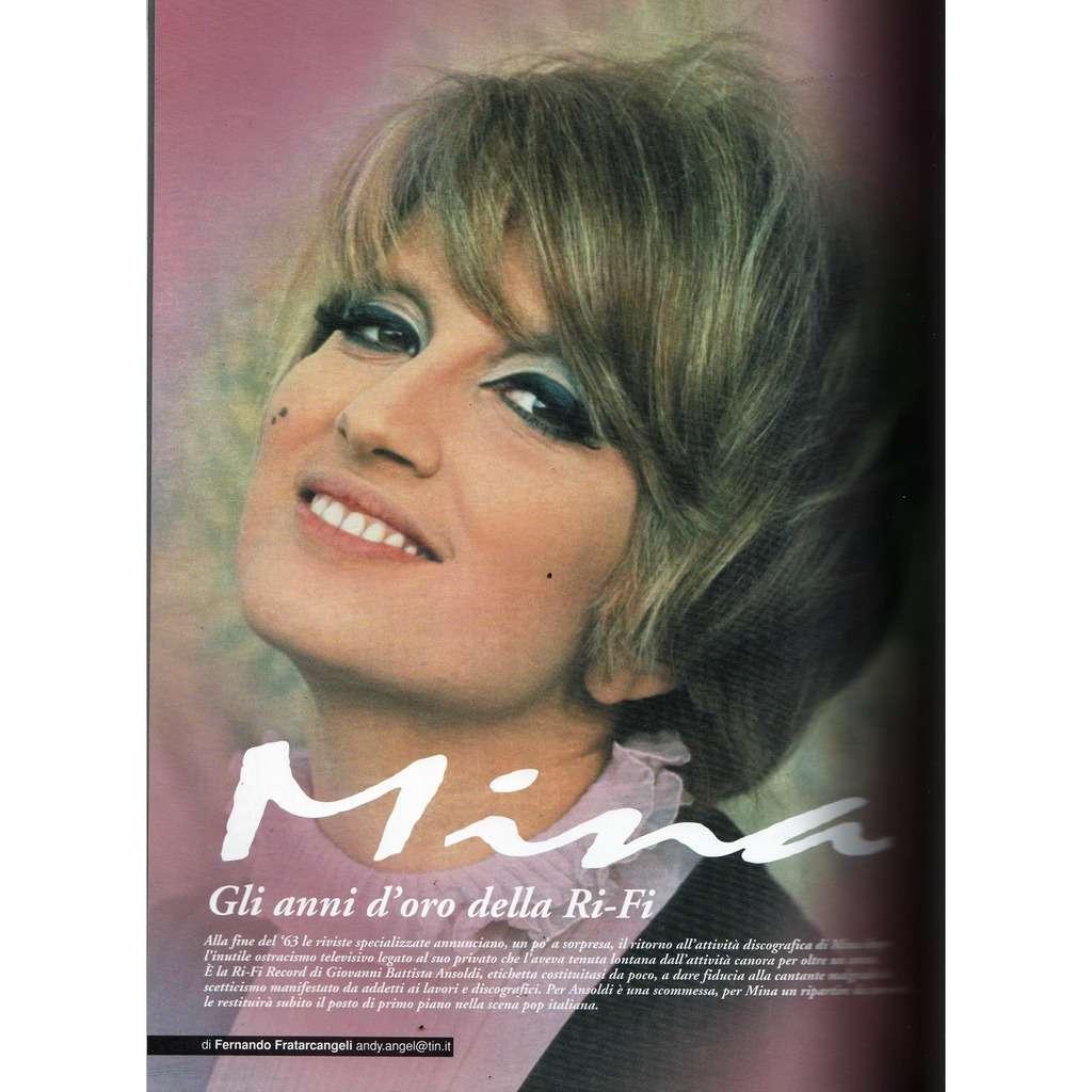 Mina RARO! (N.150 Dec. 2003) (Italian 2003 music collector's magazine!!)