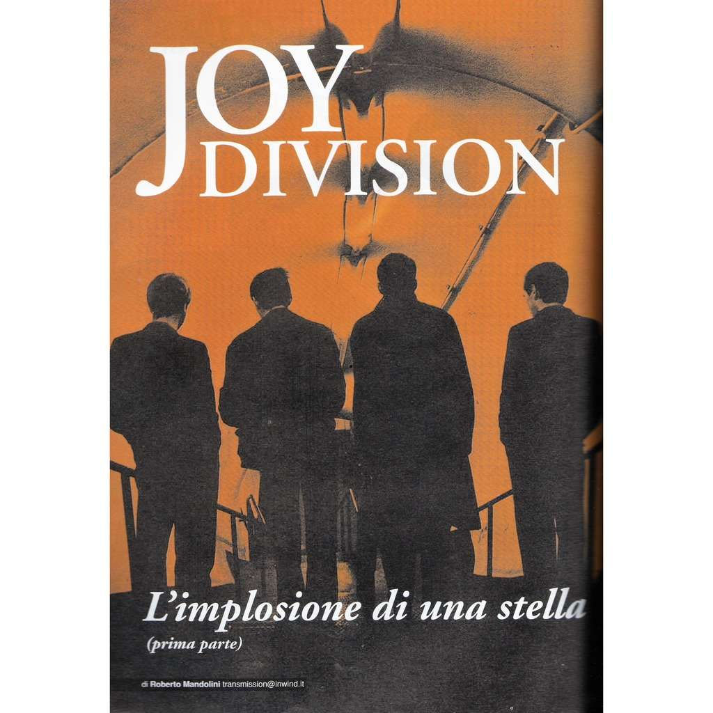 Joy Division RARO! (N.150 Dec. 2003) (Italian 2003 music collector's magazine!!)