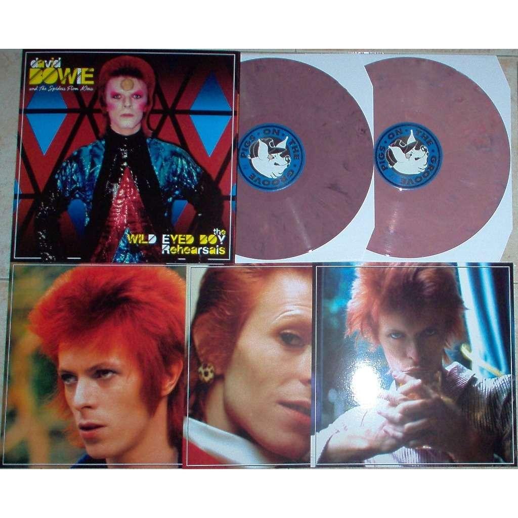 david bowie Wild Eyed Boy Rehearsals (Odeon Theatre, London UK 24.05.1973) (Ltd 100 copies PINk wax)