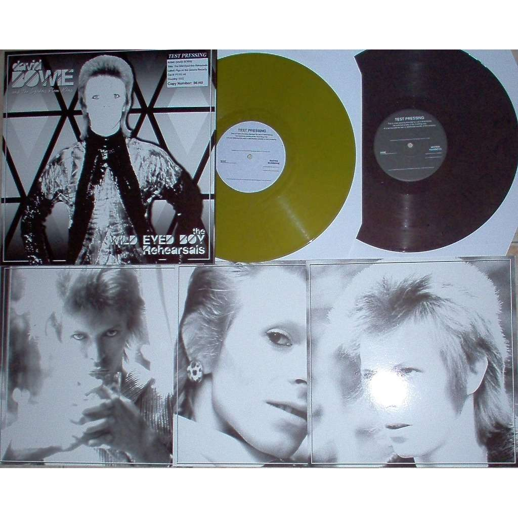 David Bowie Wild Eyed Boy Rehearsals (Odeon Theatre, London UK 24.05.1973) (Ltd 40 copies TEST PRESS)