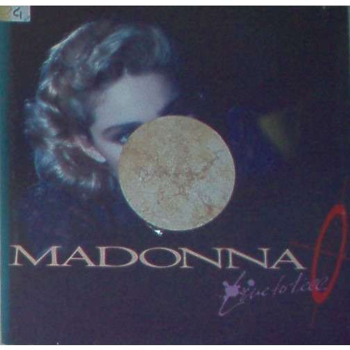 Madonna Live to tell (Italian 1986 full die-cut promo ps for relative 3-trk promo 12ep-No vinyl)
