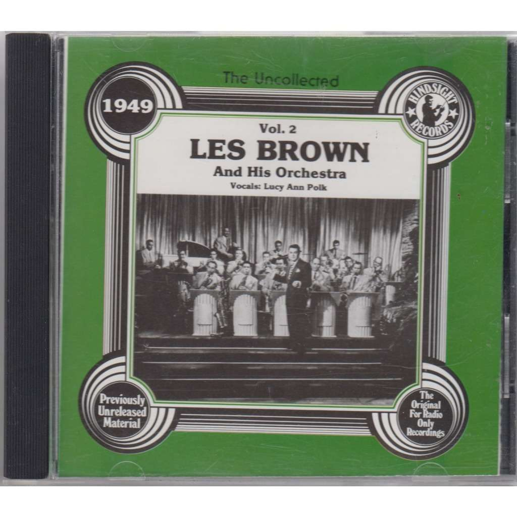 LES BROWN, LUCY ANN POLK The Uncollected Vol.2 1949 HINDSIGHT 1978 CD NEW