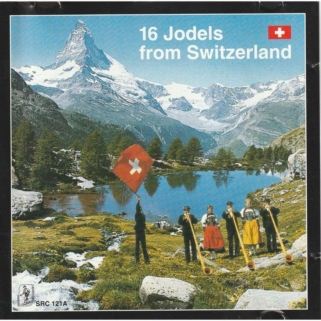 divers artistes - various artist 16 jodels from switzerland