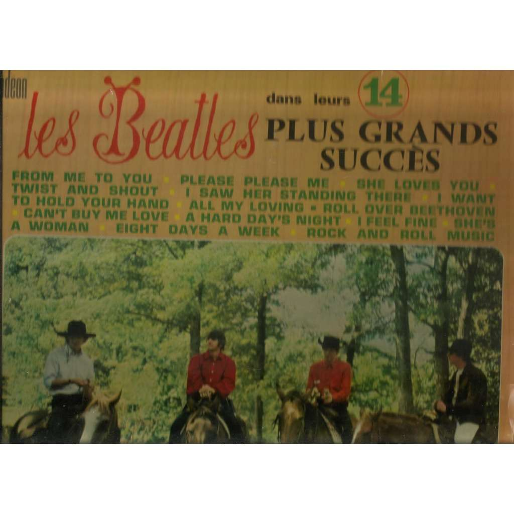 the beatles dans leurs 14 plus grands succes ORIGINAL
