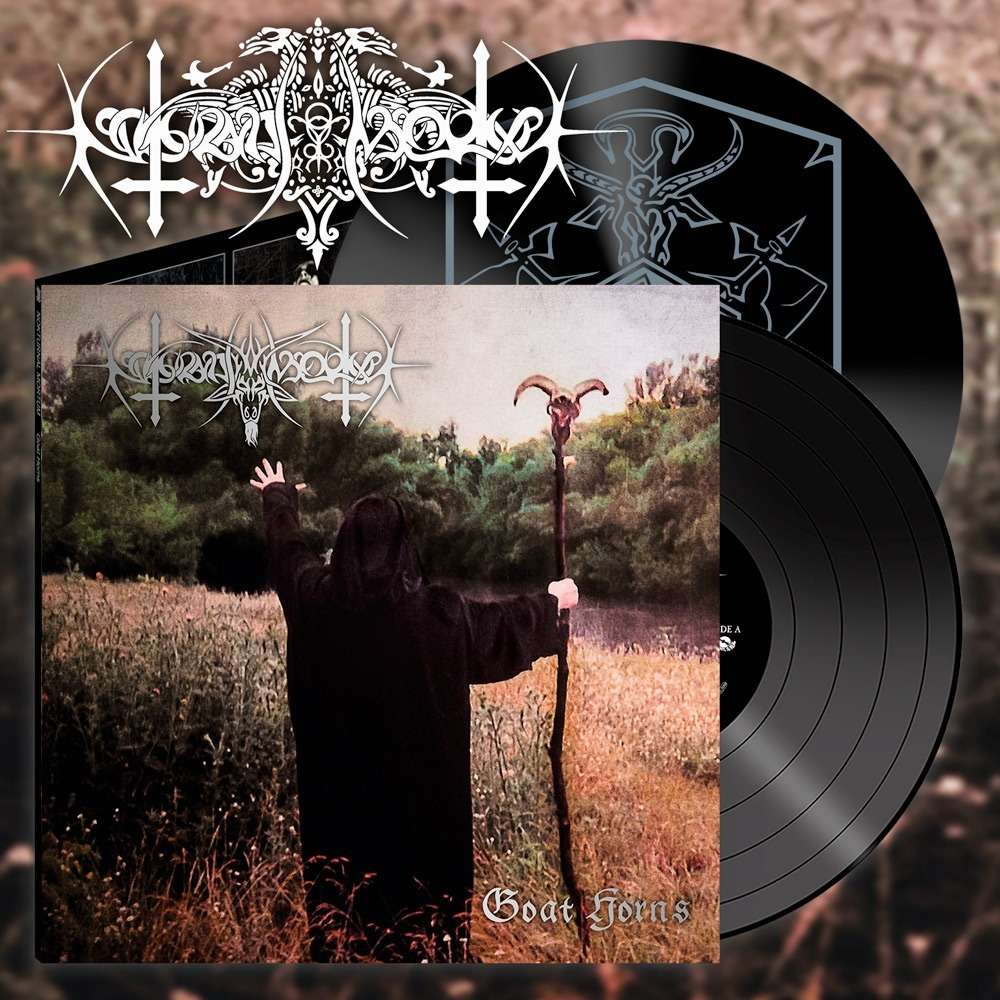 NOKTURNAL MORTUM Goat Horns. Black Vinyl