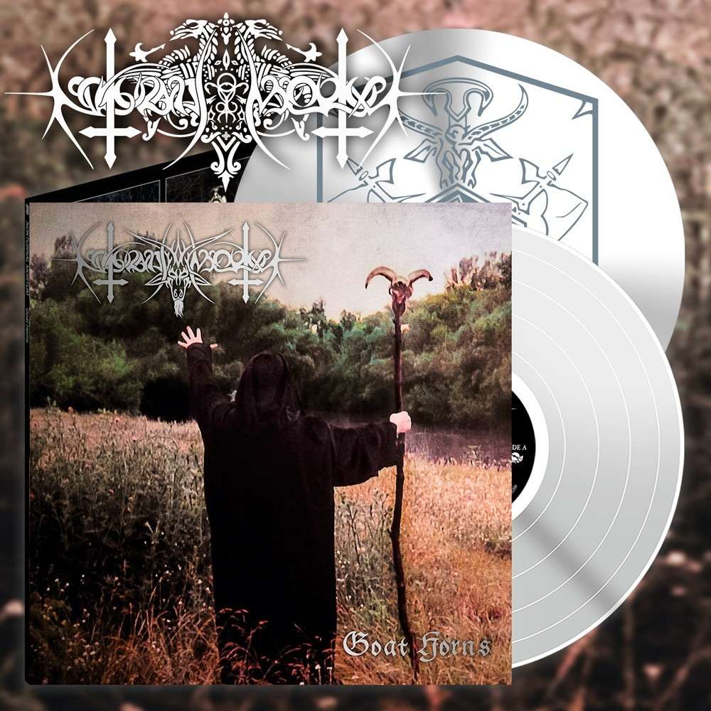 NOKTURNAL MORTUM Goat Horns. White Vinyl