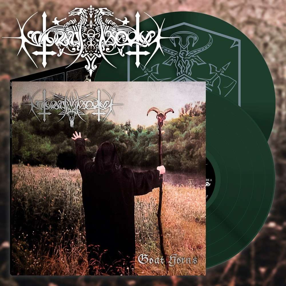 NOKTURNAL MORTUM Goat Horns. Green Vinyl