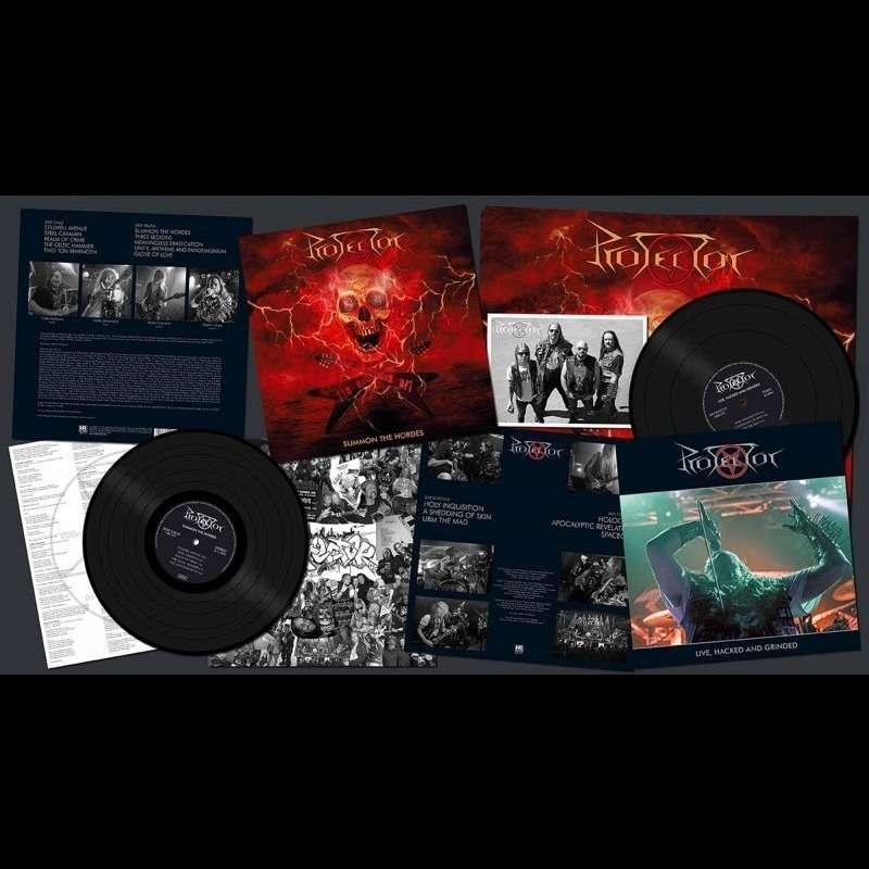 PROTECTOR Summon the Hordes. Black Vinyl LTD