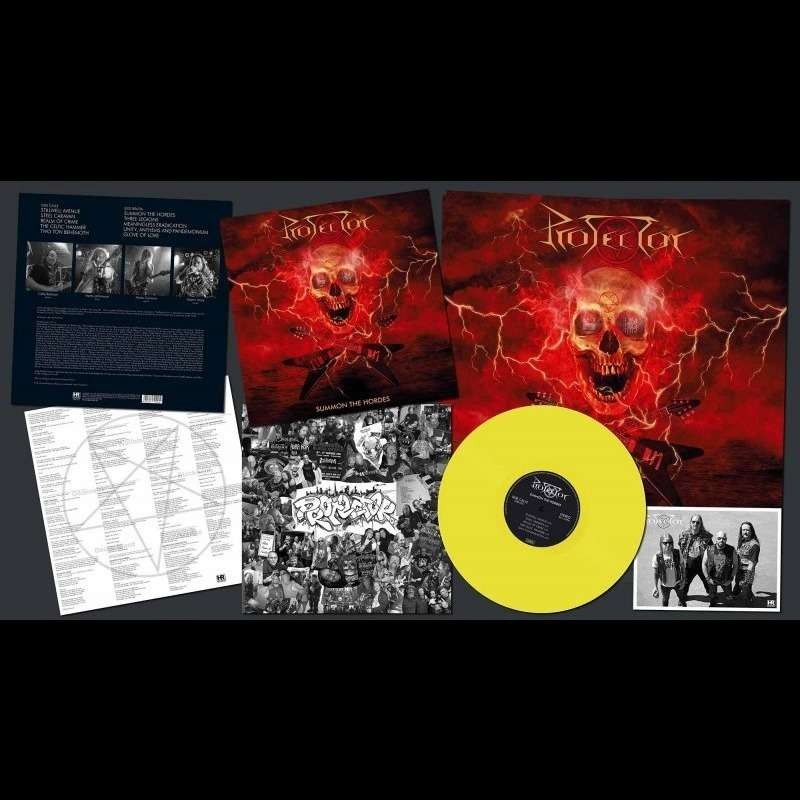 PROTECTOR Summon the Hordes. Yellow Vinyl