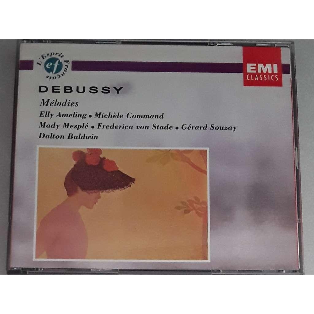 Debussy - Ameling - Mesplé - Command - Von Stade Integrale des mélodies