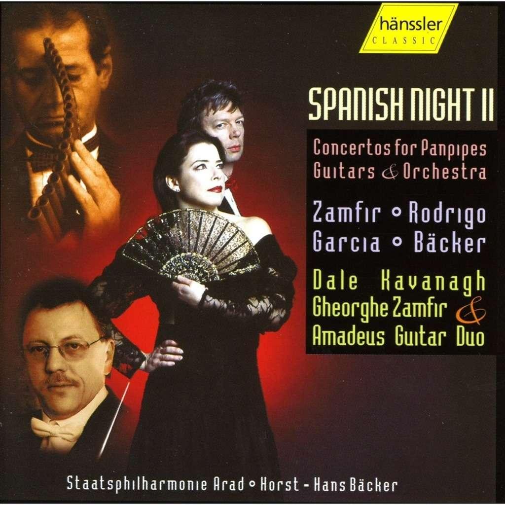 Garcia / Zamfir / Rodrigo / Bäcker Spanish Night 2 / Amadeus Guitar Duo, Arad Philharmonic Orchestra, Horst-Hans Bäcker