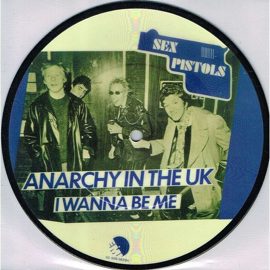 Sex Pistols Anarchy In The U K (Holland Ltd re 2-trk 7single Picture Disc PVC slv)