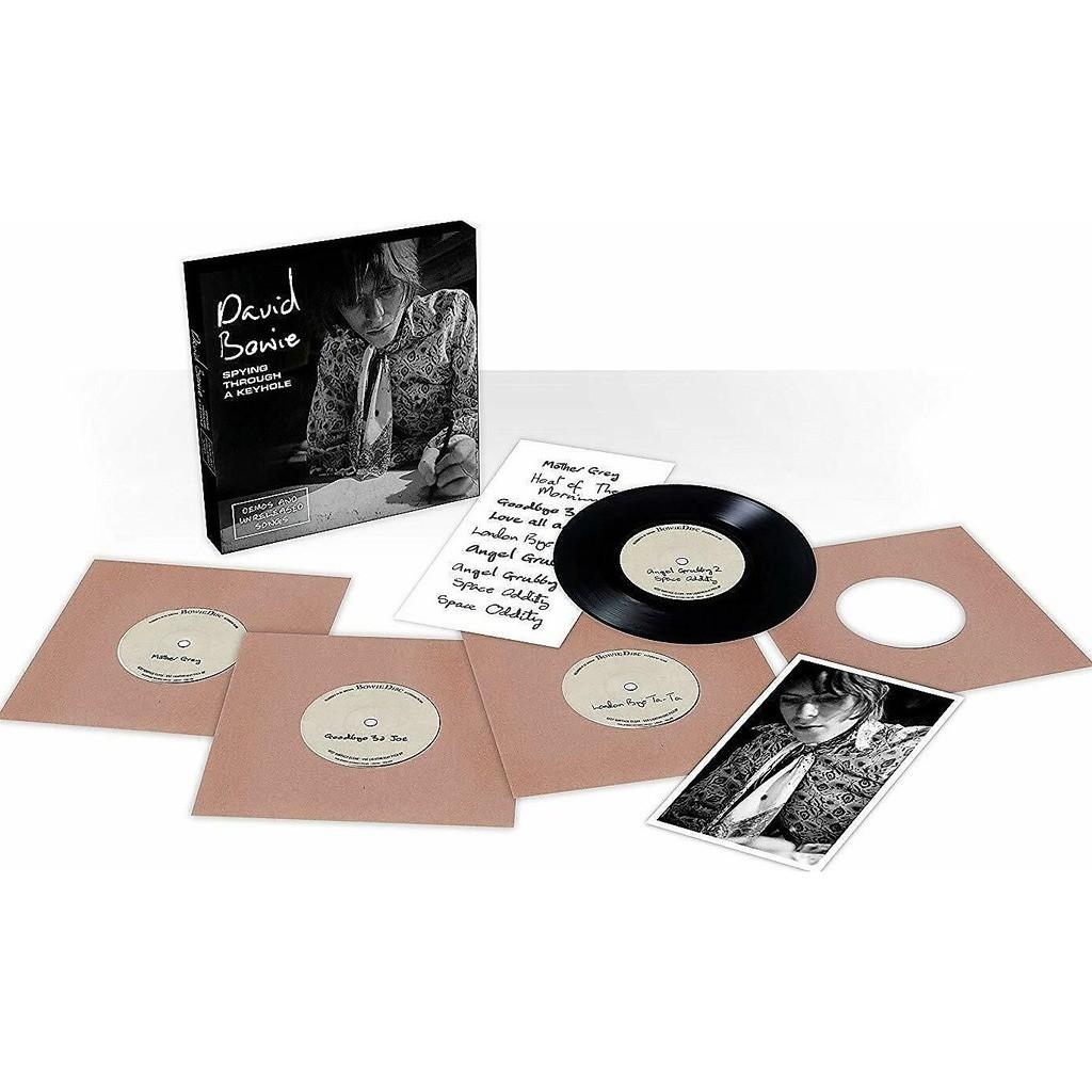 DAVID BOWIE Spying Through A Keyhole (UK 2019 Ltd 8-trk demos 4x 7singles Box set!! Sealed copy!)