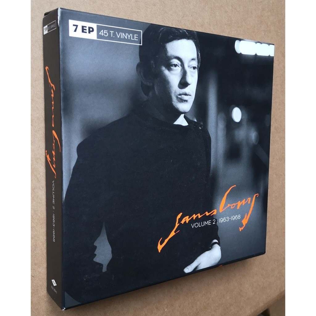 GAINSBOURG serge gainsbourg volume 2 : 1963-1968