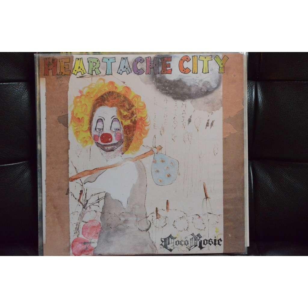 CocoRosie Heartache City (GREEN VINYL, +7' + poster )