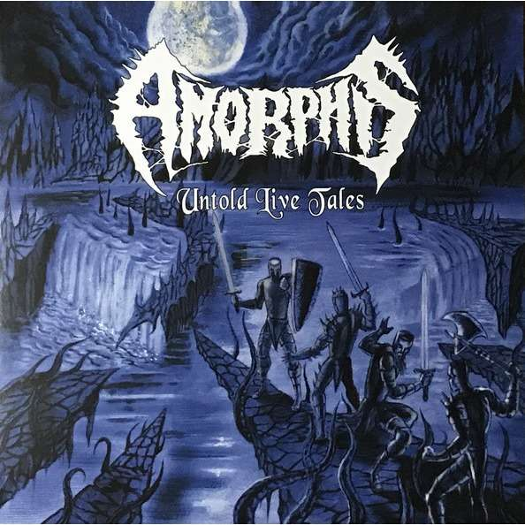 Amorphis Untold Live Tales (lp) Ltd Edit 250 Copies & Coloured Vinyl -USA