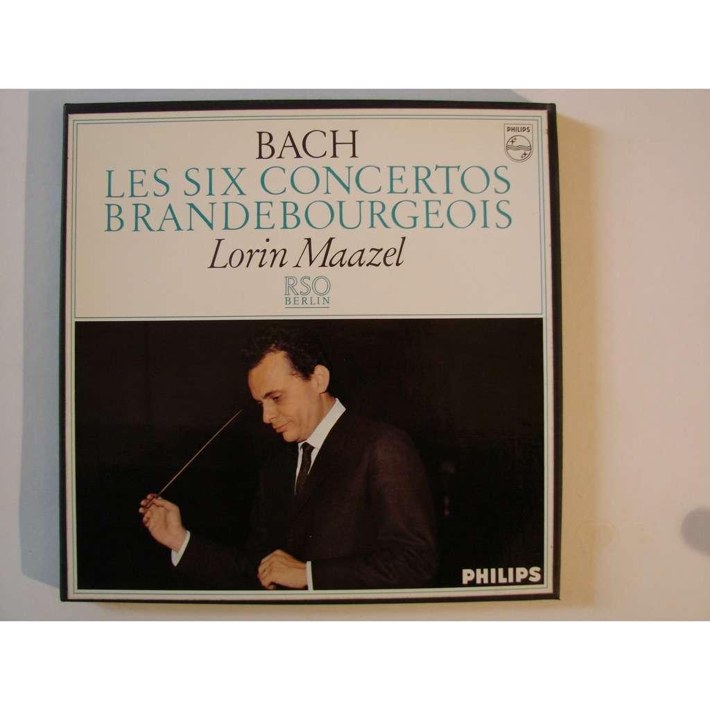Lorin Maazel : R S O de Berlin Bach : les six concertos Brandebourgeois