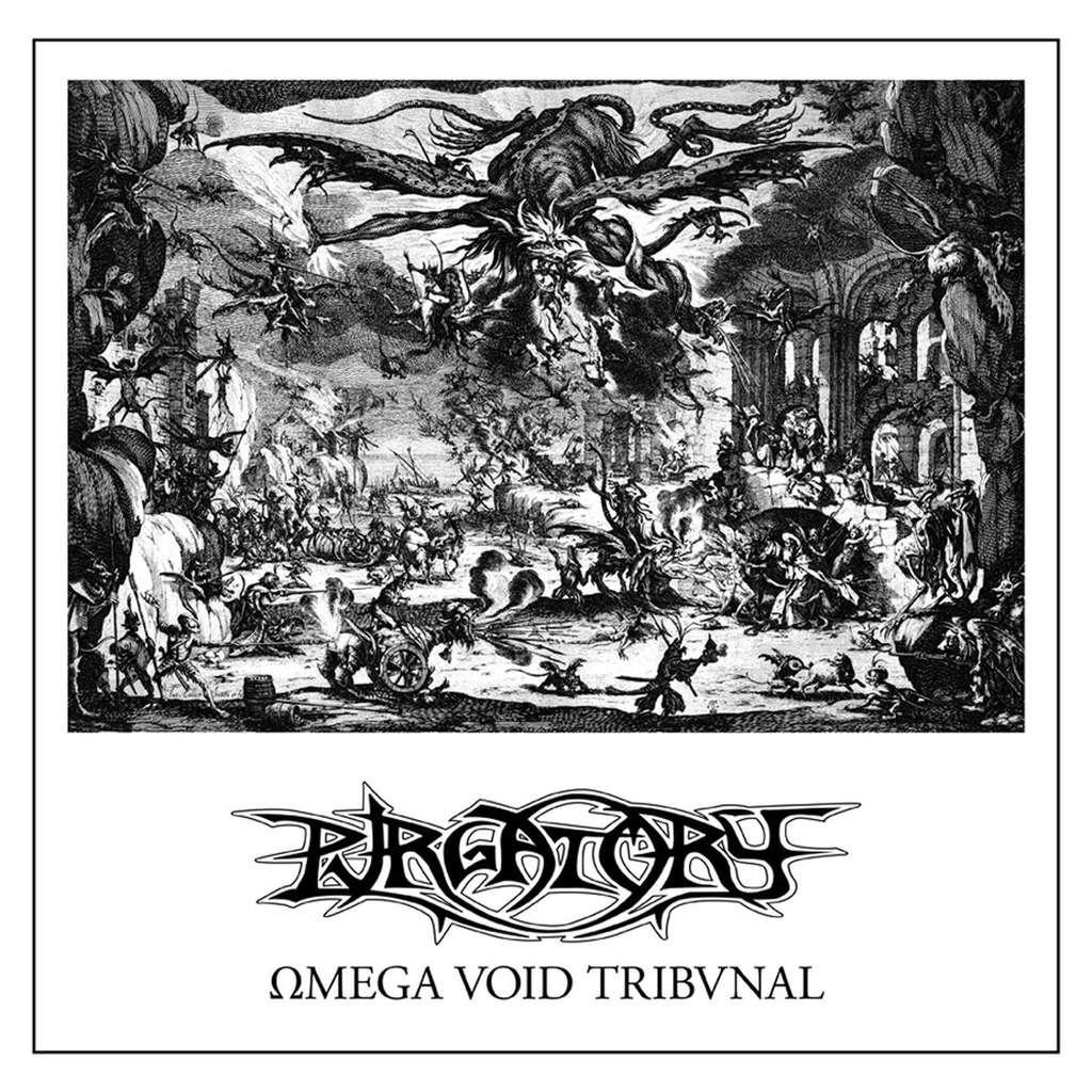 PURGATORY Omega Void Tribvnal. Black Vinyl