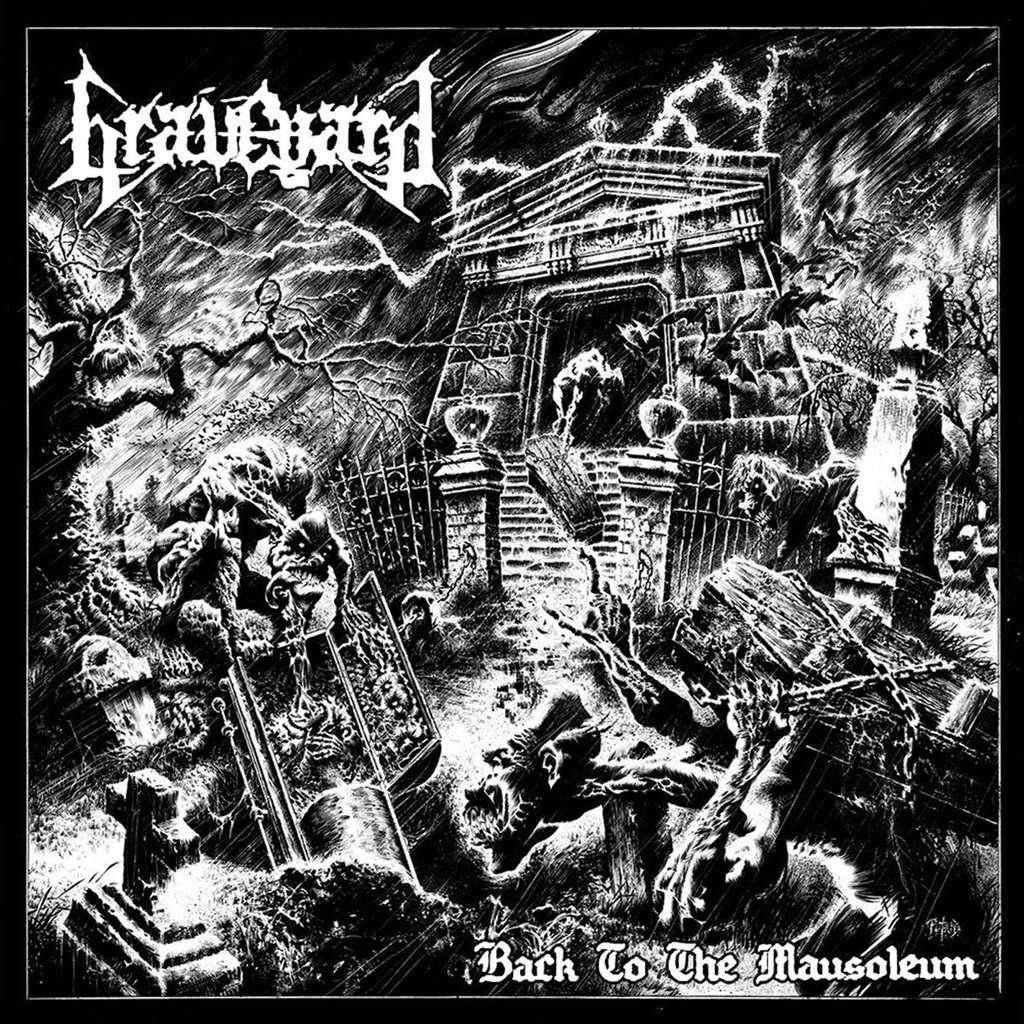 GRAVEYARD Back to the Mausoleum. Black Vinyl