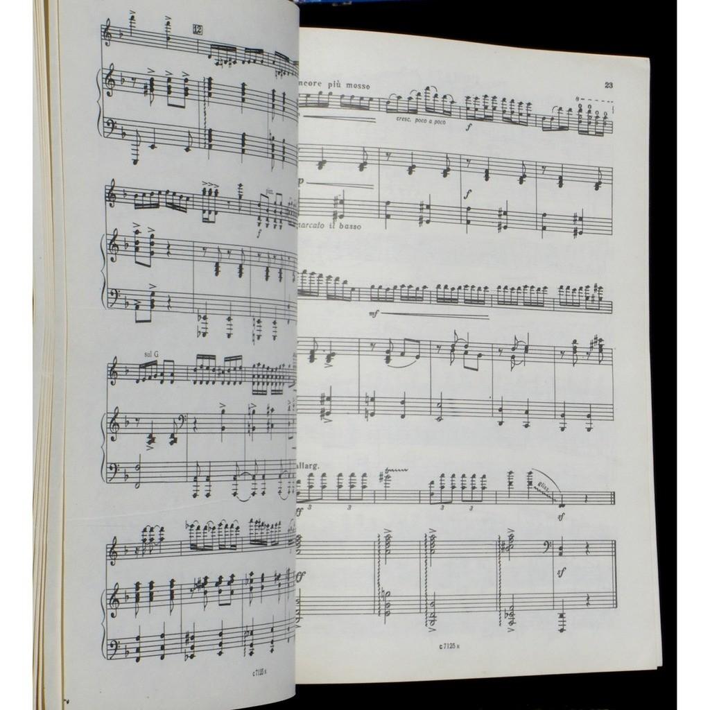 Partition / Score Zinoviy Kompaneyets Компанеец Partition / Score Zinoviy Kompaneyets Компанеец Oeuvres violon/piano 1985 EX