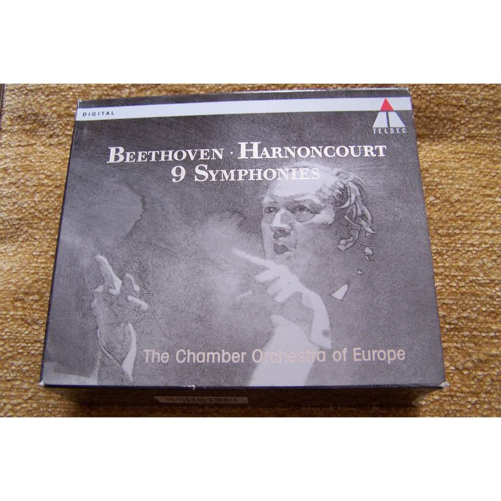 Beethoven /Harnoncourt,Chamber Orchestra of Europe 9 Symphonies