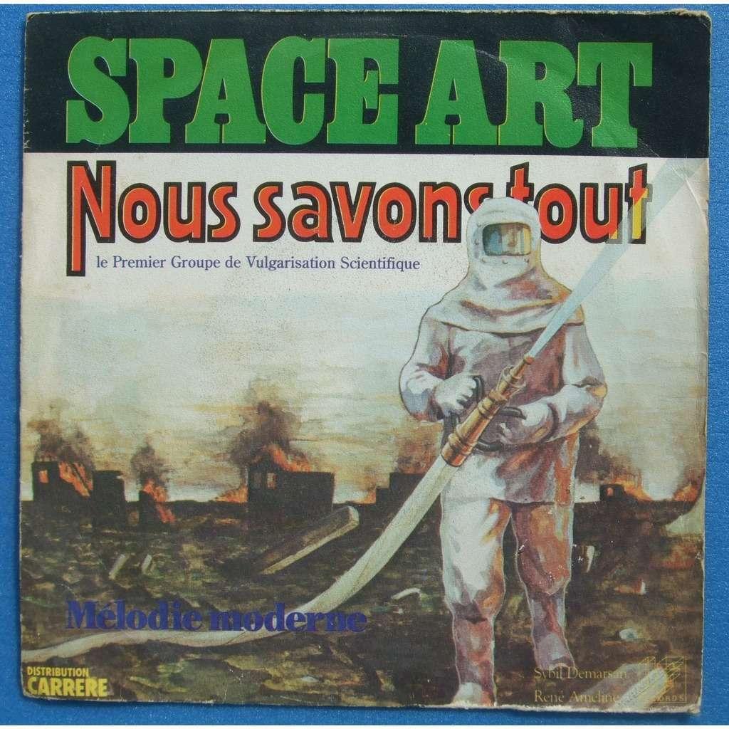 SPACE ART nous savons tout