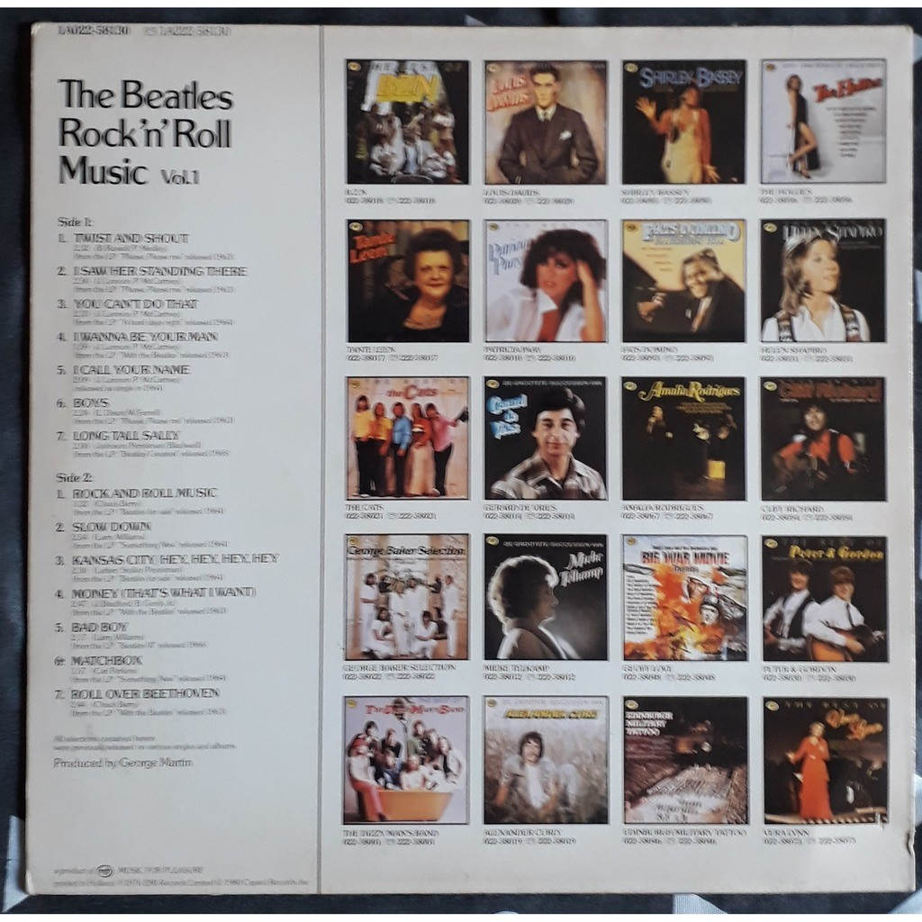 the beatles rock'n' roll music volume 1