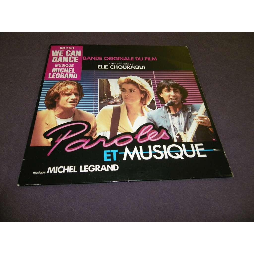 michel legrand Paroles Et Musique (Bande Originale Du Film)