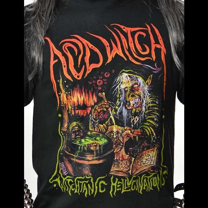 ACID WITCH Witchtanic Hellucinations