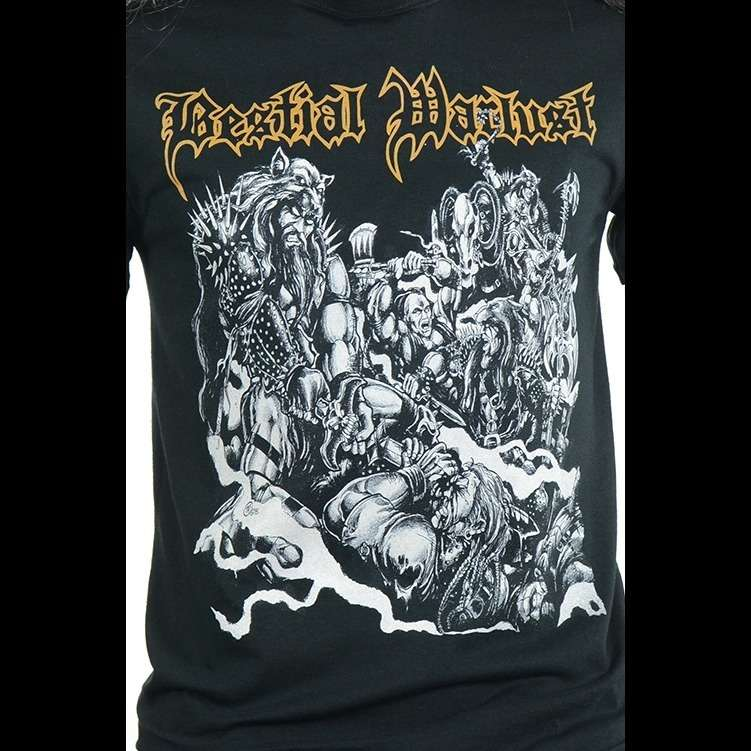 BESTIAL WARLUST Blood & Valour