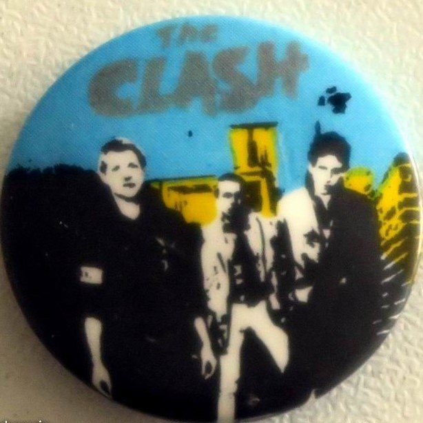 clash Vintage badge THE CLASH