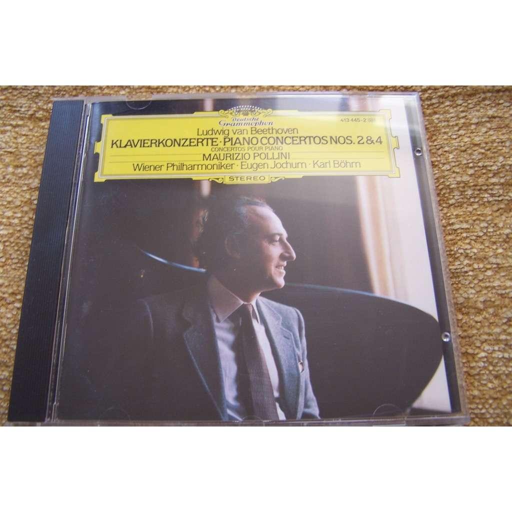 POLLINI MAURIZIO/ BÖHM KARL/ WIERNER PHI Beethoven : concertos pour piano n°2 & 4