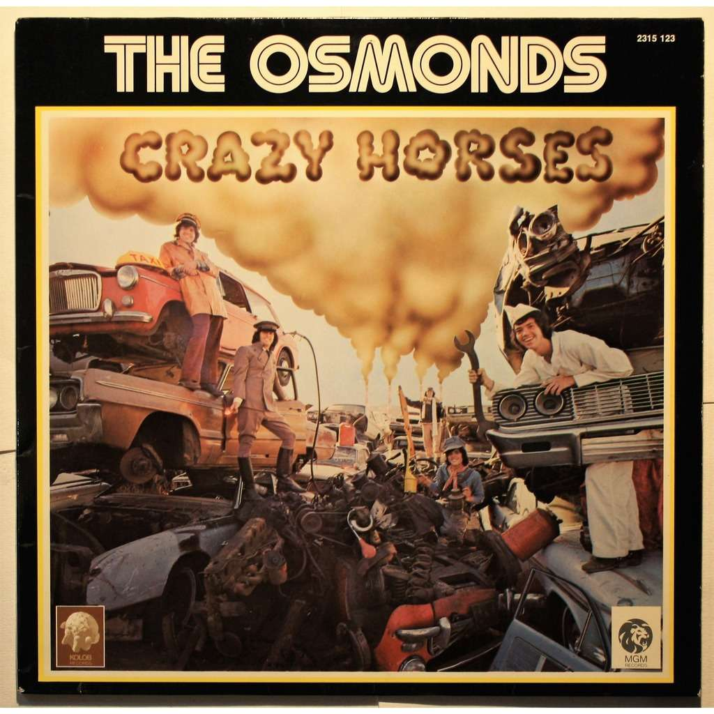 Crazy horses by The Osmonds, LP with cruisexruffalo - Ref:119498671