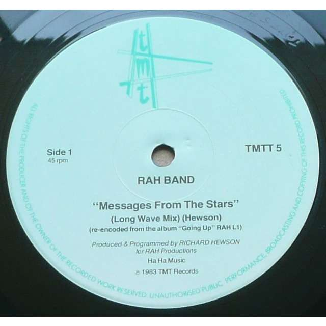 RAH Band Messages From The Stars