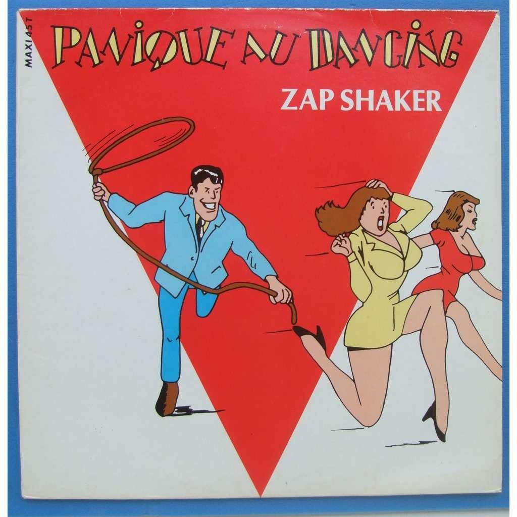 zap shaker panique au dancing