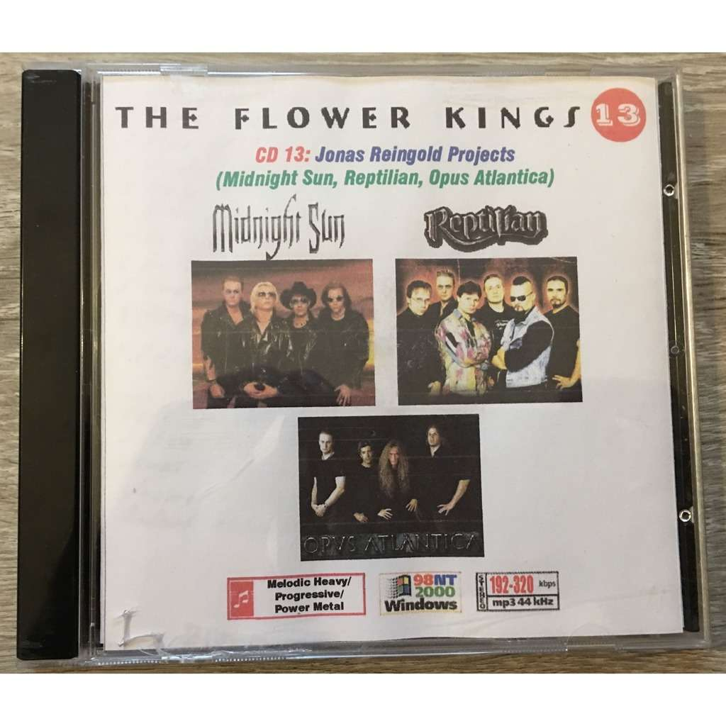 the flower kings, jonas reingold projects MP3 Collection 8 Albums