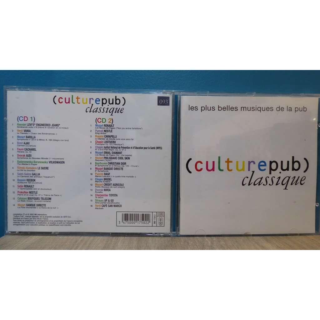 divers (various artists) culturepub classique